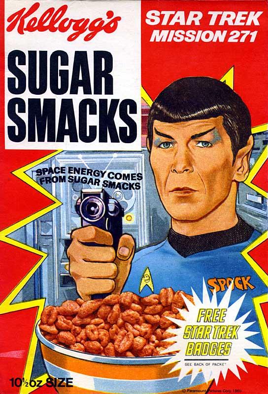 Super Rare Star Trek Cereal Box Not a hoax! Not a fake!